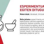 esperimentuak