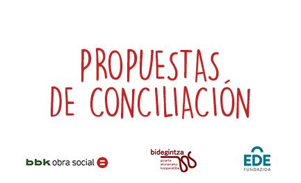 Propuestas de conciliación