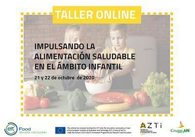 Taller online alimentación